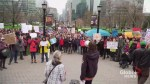 Protestors descend on Queen's park, demanding Ford government put an end to recently announced budget cuts