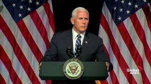 Pence says U.S. will have 'American dominance' in space