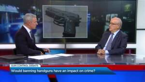 Would banning handguns have an impact on crime?
