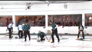 Kingston is hosting a national curling championship.