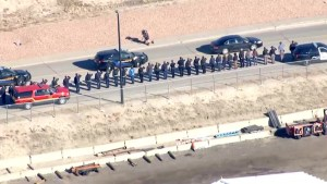 Douglas County hold highway procession for fallen officer after fatal shooting
