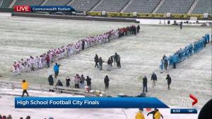 Commonwealth Stadium hosts Edmonton high school football finals for first time ever