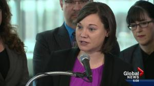 NDP begins to sell climate change plan to Albertans