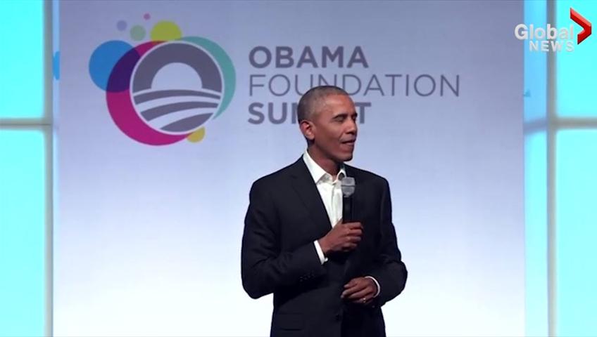 Obama laments lack of US climate leadership in Paris