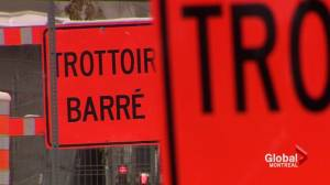 Petition for bilingual road signs in Quebec (02:00)