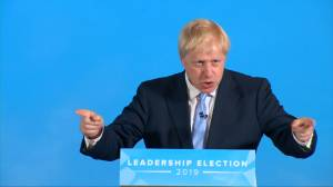 Boris Johnson says Irish backstop presents UK PM with 'absolutely unacceptable choice'