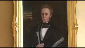 Restored Portrait featured at Kingston City Hall