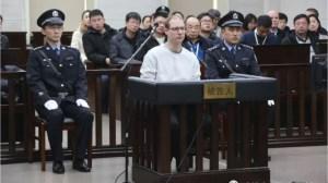 China sentences Canadian to death for drug smuggling