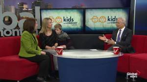 Kids with Cancer: Local boy overcoming brain tumor