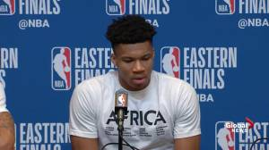 Bucks' Giannis said shots at beginning 'set the tone' for Game 2