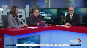 Political reaction to the 2018 Alberta budget (03:08)