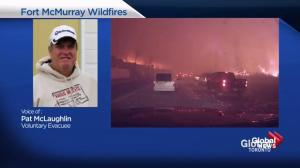 Fort McMurray evacuee talks about escaping wildfire