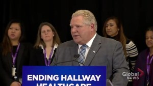Premier Ford would not say if full-day kindergarten in Ontario will be scrapped