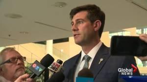 Edmonton city councillors debate multi-million dollar bike lane plan (02:02)