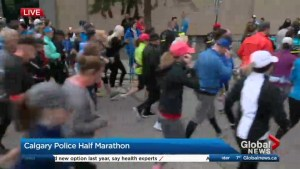 6 youth-based programs benefit from 38th annual Calgary Police Half Marathon