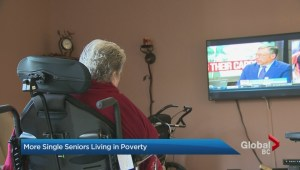 Seniors living in poverty