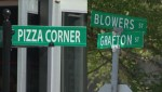 City considering removing Pizza Corner sign