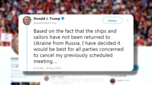 Trump abruptly cancels meeting with Putin at G20