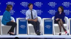 Trudeau calls on men to lead gender parity revolution