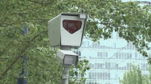 The roll-out of intersection cameras to catch speeders in B.C. is being delayed