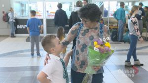 'It feels amazing': 6-year-old Regina boy meets the woman who saved his life