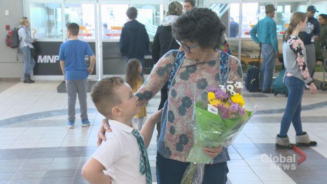 6-year-old Regina boy meets woman who saved his life