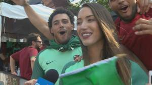 Portugal celebrates huge victory over Wales in Euro Cup semi-final