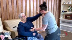 Residents of Saskatoon's Porteous Lodge get schooled in adaptive martial arts