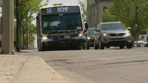 Regina teen recovering from run-in with city bus
