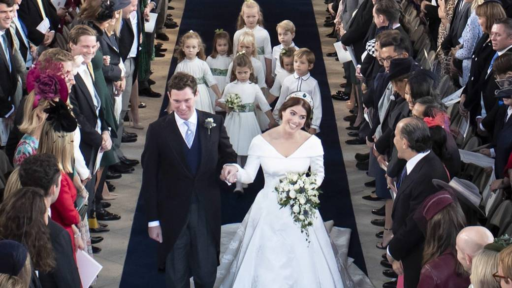 Princess Eugenie Granddaughter Of Queen Elizabeth Marries In 2nd Royal Wedding Of The Year National Globalnews Ca