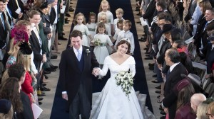 Highlights of Princess Eugenie's wedding to Jack Brooksbank