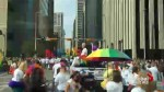 Timelapse: Global News Calgary marches in 2018 Pride Parade