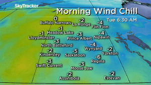 Saskatoon weather outlook: cool kickoff to May