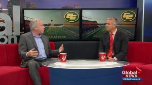 Edmonton Eskimos president discusses public consultations on team's name