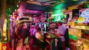North Carolina bar stays open in the face of Hurricane Florence