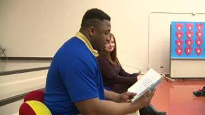 Global News and the Blue Bombers team up for I Love to Read month