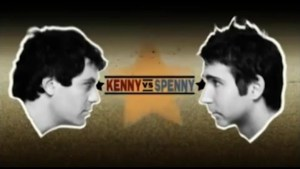 Kenny vs Spenny take to the stage live.