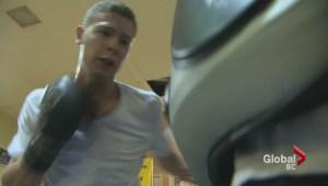 Rhett Gibbons, rising boxing star