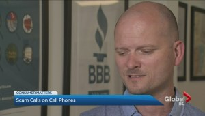 Cell phone scam calls surging