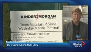 B.C. sues Alberta over pipeline battle