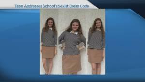 Teen writes searing takedown of school's dress code