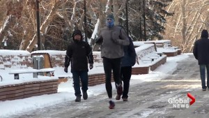 Calgarians use exercise and sunshine to battle winter blues