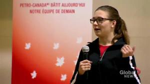 Shelby Newkirk repeats as Canada's female para-swimmer of the year
