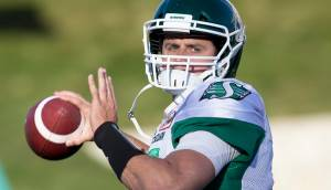 Saskatchewan Roughriders' Zach Collaros says he's 'healthy' and 'ready to produce'