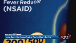 New study links Ibuprofen and male infertility
