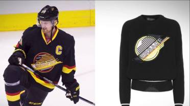 sports shoes c63e3 5d21d $1,200 Versace sweater may look familiar to Vancouver ...