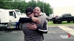 The Rock surprises longtime stuntman with his own truck