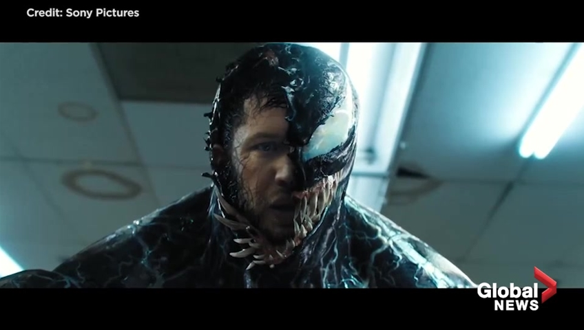 The new 'Venom' trailer shows Tom Hardy is no superhero
