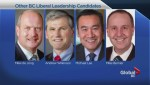 BC Liberal Leadership candidates throw their names into the race.