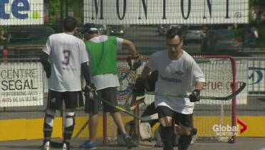 Puck Drops On Third Together For The Kids Street Hockey Tournament